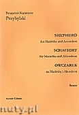 Okładka: Przybylski Bronisław Kazimierz, Owczarek na marimbę i akordeon (partytura + głosy, ca 2')