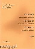Okładka: Przybylski Bronisław Kazimierz, Owczarek na gitarę i akordeon (partytura + głosy, ca 2')