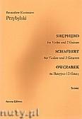 Ok�adka: Przybylski Bronis�aw Kazimierz, Owczarek na skrzypce i 2 gitary (partytura + g�osy, ca 2')