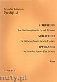 Ok�adka: Przybylski Bronis�aw Kazimierz, Owczarek na saksofon altowy i 2 gitary (partytura + g�osy, ca 2')