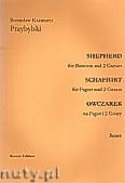 Okładka: Przybylski Bronisław Kazimierz, Owczarek na fagot i 2 gitary (partytura + głosy, ca 2')
