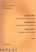Ok�adka: Przybylski Bronis�aw Kazimierz, Owczarek na wiolonczel� i 2 marimby (partytura + g�osy, ca 2')