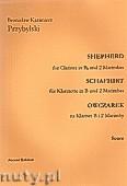 Okładka: Przybylski Bronisław Kazimierz, Owczarek na klarnet B i 2 marimby (partytura + głosy, ca 2')