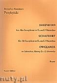 Ok�adka: Przybylski Bronis�aw Kazimierz, Owczarek na saksofon altowy i 2 marimby (partytura + g�osy, ca 2')