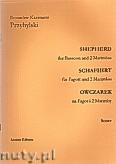 Okładka: Przybylski Bronisław Kazimierz, Owczarek na fagot i 2 marimby (partytura + głosy, ca 2')