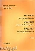 Okładka: Przybylski Bronisław Kazimierz, Owczarek na altówkę, marimbę i gitarę (partytura + głosy, ca 2')