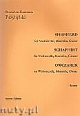 Ok�adka: Przybylski Bronis�aw Kazimierz, Owczarek na wiolonczel�, marimb� i gitar� (partytura + g�osy, ca 2')