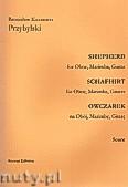 Okładka: Przybylski Bronisław Kazimierz, Owczarek na obój, marimbę i gitarę (partytura + głosy, ca 2')