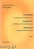 Okładka: Przybylski Bronisław Kazimierz, Owczarek na klarnet B, marimbę i gitarę (partytura + głosy, ca 2')