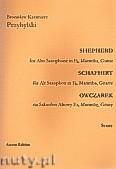 Okładka: Przybylski Bronisław Kazimierz, Owczarek na saksofon altowy, marimbę i gitarę (partytura + głosy, ca 2')