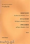 Okładka: Przybylski Bronisław Kazimierz, Owczarek na fagot, marimbę i gitarę (partytura + głosy, ca 2')