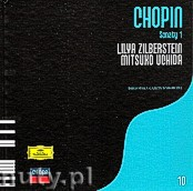 Okładka: Chopin Fryderyk, Chopin, Sonaty 1 - Uchida Mitsuko, Zilberstein Lilya