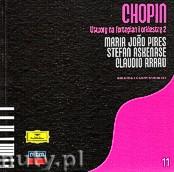 Okładka: Chopin Fryderyk, Utwory na fortepian i orkiestrę 2 Chopin, Arrau Claudio, Askenase Stefan, Pires Maria Joao