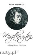 Okładka: Wierzbicki Piotr, Migotliwy ton. Esej o stylu Chopina