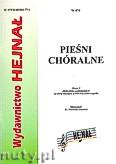 Okładka: Chamski ks. Hieronim, Pieśni chóralne zeszyt 4. Zbiór pieśni patriotyczne na chór SATB oraz SAB a capella