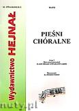 Okładka: Chamski ks. Hieronim, Pieśni Chóralne zeszyt 5. Zbiór pieśni żołnierskich na chóry mieszane SATB oraz SAB a capella