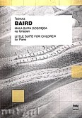 Ok�adka: Baird Tadeusz, Ma�a suita dzieci�ca na fortepian