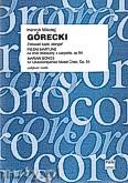 Okładka: Górecki Henryk Mikołaj, Pieśni Maryjne na chór mieszany a cappella, op 54