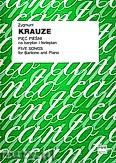 Ok�adka: Krauze Zygmunt, Pi�� pie�ni na baryton i fortepian