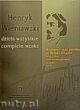 Okładka: Wieniawski Henryk, Romance Sans Paroles et Rondo Elegant pour violon avec de piano op. 9, seria A tom 17