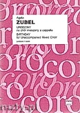 Okładka: Zubel Agata, Urodziny na chór mieszany a cappella