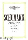 Okładka: Schumann Robert, Ausgewählte Gesänge für gemischten Chor