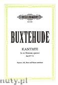 Okładka: Buxtehude Dietrich, Kantate - In te Domine speravi Bux WV 53