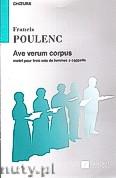 Ok�adka: Poulenc Francis, Ave Verum Corpus