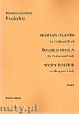 Okładka: Przybylski Bronisław Kazimierz, Wyspy Eolskie na skrzypce i harfę (ca 19', partytura + głosy)