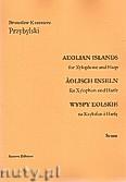 Okładka: Przybylski Bronisław Kazimierz, Wyspy Eolskie na ksylofon i harfę (ca 19', partytura + głosy)