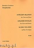 Okładka: Przybylski Bronisław Kazimierz, Wyspy Eolskie na flet i fortepian (ca 19', partytura + głosy)