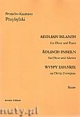 Ok�adka: Przybylski Bronis�aw Kazimierz, Wyspy Eolskie na ob�j i fortepian (ca 19', partytura + g�osy)