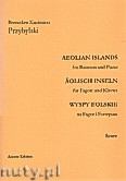 Ok�adka: Przybylski Bronis�aw Kazimierz, Wyspy Eolskie na fagot i fortepian (ca 19', partytura + g�osy)