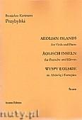Okładka: Przybylski Bronisław Kazimierz, Wyspy Eolskie na altówkę i fortepian (ca 19', partytura + głosy)