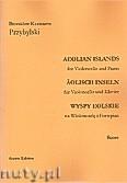 Ok�adka: Przybylski Bronis�aw Kazimierz, Wyspy Eolskie na wiolonczel� i fortepian (ca 19', partytura + g�osy)