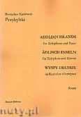 Okładka: Przybylski Bronisław Kazimierz, Wyspy Eolskie na ksylofon i fortepian (ca 19', partytura + głosy)