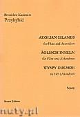 Ok�adka: Przybylski Bronis�aw Kazimierz, Wyspy Eolskie na flet i akordeon (ca 19', partytura + g�osy)