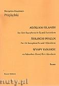 Okładka: Przybylski Bronisław Kazimierz, Wyspy Eolskie na saksofon altowy i akordeon (ca 19', partytura + głosy)