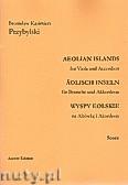 Okładka: Przybylski Bronisław Kazimierz, Wyspy Eolskie na altówkę i akordeon (ca 19', partytura + głosy)