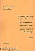Ok�adka: Przybylski Bronis�aw Kazimierz, Wyspy Eolskie na flet i klawesyn (ca 19', partytura + g�osy)