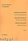 Okładka: Przybylski Bronisław Kazimierz, Wyspy Eolskie na obój i klawesyn (ca 19', partytura + głosy)