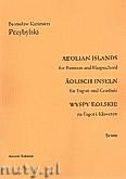 Okładka: Przybylski Bronisław Kazimierz, Wyspy Eolskie na fagot i klawesyn (ca 19', partytura + głosy)