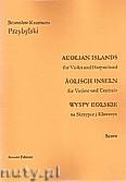 Okładka: Przybylski Bronisław Kazimierz, Wyspy Eolskie na skrzypce i klawesyn (ca 19', partytura + głosy)