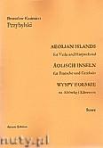 Okładka: Przybylski Bronisław Kazimierz, Wyspy Eolskie na altówkę i klawesyn (ca 19', partytura + głosy)