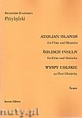 Ok�adka: Przybylski Bronis�aw Kazimierz, Wyspy Eolskie na flet i marimb� (ca 19', partytura + g�osy)