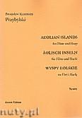 Okładka: Przybylski Bronisław Kazimierz, Wyspy Eolskie na flet i harfę (ca 19', partytura + głosy)