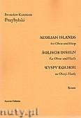 Okładka: Przybylski Bronisław Kazimierz, Wyspy Eolskie na obój i harfę (ca 19', partytura + głosy)