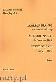 Okładka: Przybylski Bronisław Kazimierz, Wyspy Eolskie na fagot i harfę (ca 19', partytura + głosy)