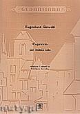 Ok�adka: G�owski Eugeniusz, Capriccio per violino solo