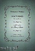 Ok�adka: Molino Francesco, Nokturny op. 37, op.38 na flet i gitar�
